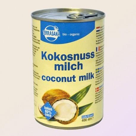 Kokosų pienas Terrasana, ekologiškas, 400 ml
