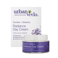 Spindesį suteikiantis dieninis veido kremas sausai odai, Urban Veda, 50 ml