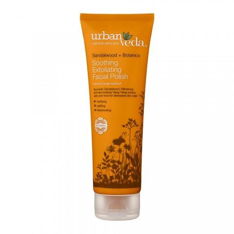 Raminantis probleminės jautrios veido odos šveitiklis, Urban Veda, 125 ml