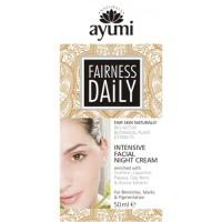 "Intensyvus naktinis veido kremas ""Fairness Daily"", Ayumi, 100 ml"