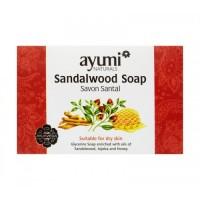 Muilas su santalu sausai odai Sandalwood, Ayumi, 100 g