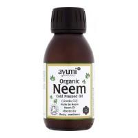 Ekologiškas nimbamedžio (Neem) aliejus, šalto spaudimo, Ayumi, 100 ml