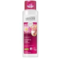 Šampūnas su rožėmis ir žirnių proteinu, Lavera, 250 ml