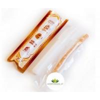 Natūralus dantų šepetėlis iš medžio šaknies Miswak Natural Toothbrush + dėkliukas