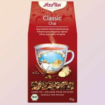 Klasikinė ajurvedinė jogų arbata, ekologiška, biri, Yogi Tea, 90g