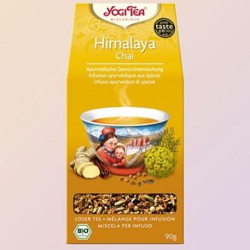 Himalajų prieskoninė ajurvedinė arbata, ekologiška, biri, Yogi Tea, 90g