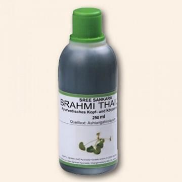 Galvos masažo aliejus Brahmi Thailam, Sree Sankara, 250 ml