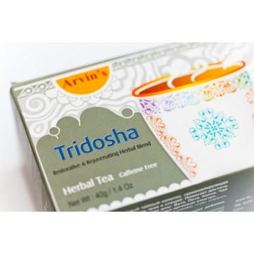 """Žolelių arbata """"Tridosha"""" Arvin's, 20 pakelių"""