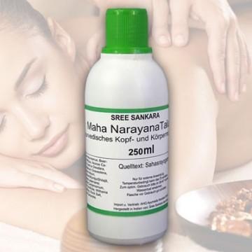 Masažo aliejus Mahanarayana Thailam, Sree Sankara, 250 ml