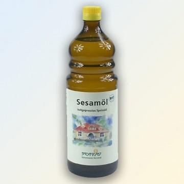 Sezamų aliejus Virgin Extra, ekologiškas, šalto spaudimo, Seyfried