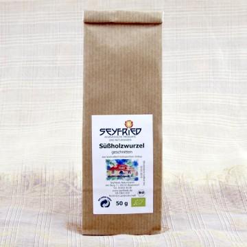 Saldymedžio šaknis, pjaustyta, ekologiška, Seyfried, 50g