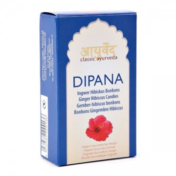 Imbiero ir kinrožės (hibiscus) ledinukai DIPANA, Classic Ayurveda, 50 g