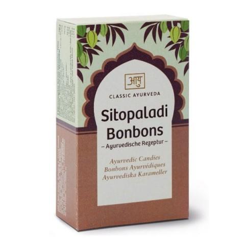 Ajurvediniai ledinukai Sitopaladi, Classic Ayurveda, 50 g