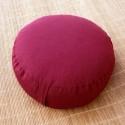 Meditacinė pagalvėlė Classic, apvali, įvairių spalvų