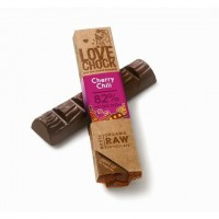 """Juodojo šokolado batonėlis """"CHERRY-CHILI"""", 40g"""