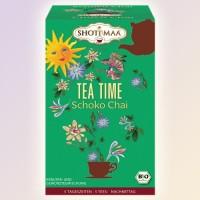 Tea time (Laikas arbatai) ekologiška arbata Shoti Maa Tea