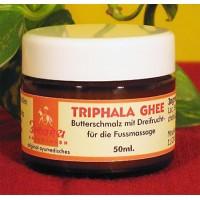 Aliejus pėdų masažui ir akims Triphala Ghee, Asshwamedh, 50 ml