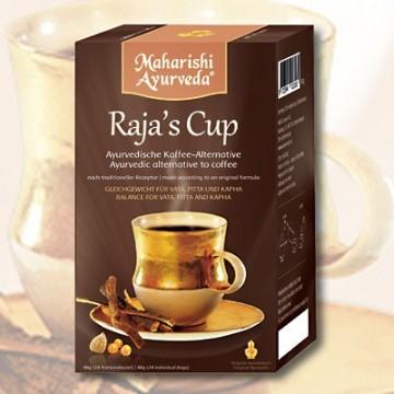 """Ajurvedinė kava """"Raja's Cup"""" (kavos pakaitalas), 24 pakeliai"""