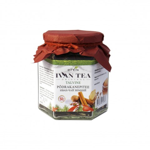 Siauralapio gauromečio (Ivan-čai) arbata žiemai, biri, Estvita, 50 g