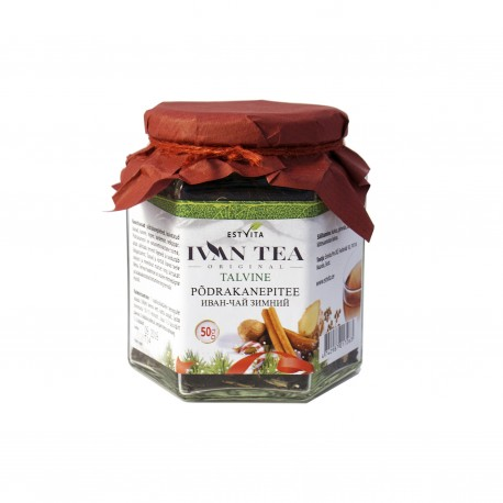 Siauralapio gauromečio (Ivan-čai) arbata žiemai, biri, 50 g