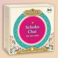 """Šokoladinė arbata su prieskoniais """"Mystery of Desire!"""", ekologiška, Hari Tea, 10 pakelių"""