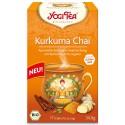 """Prieskoninė arbata su ciberžole """"Curcuma Chai"""", Yogi Tea, 17 pakelių"""