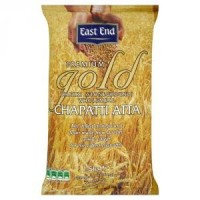 Viso grūdo miltai ATTA PREMIUM GOLD indiškai duonelei Chapati, East End