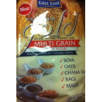 Įvairiagrūdžiai miltai Multigrain Chapati indiškai duonelei, East End, 1,5 kg