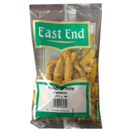 Ciberžolės šaknys, nesmulkintos, East End, 200 g