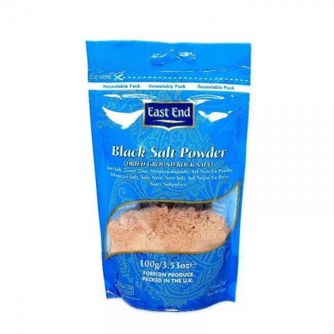 Smulki juodoji druska (Kala Namak), East End, 100 g