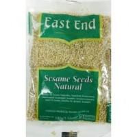 Baltosios sezamų sėklos, nesmulkintos, East End, 100g