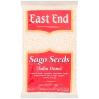 Sago sėklos, mažos, nesmulkintos, East End, 400g