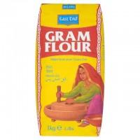 Rudųjų avinžirnių miltai Chana Dal Gram Flour, East End, 500g