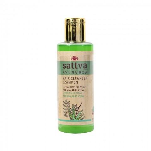Valantis plaukų šampūnas su NEEM&ALOEVERA, Sattva Ayurveda, 210ml