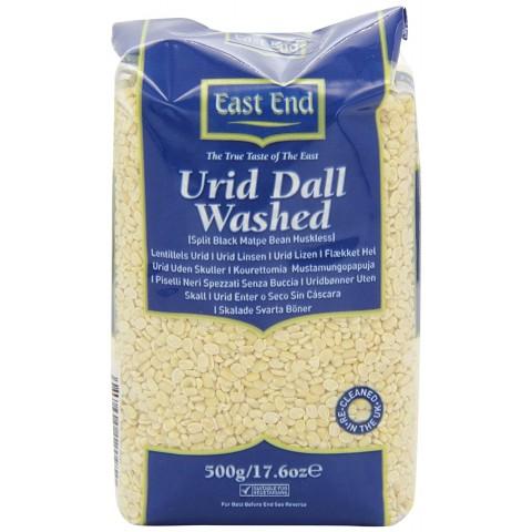 Urid Dal pupuolės, plautos, East End, 500 g