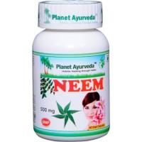 """Maisto papildas """"NEEM"""" (indinis nimbamedis), Planet Ayurveda, 60 kapsulių"""