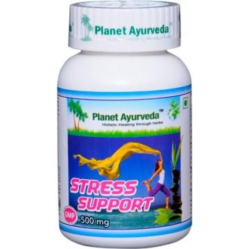 """Maisto papildas """"Stress Support"""", Planet Ayurveda, 60 kapsulių"""