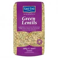Žalieji neskaldyti lęšiai Green Lentils, East End, 500 g