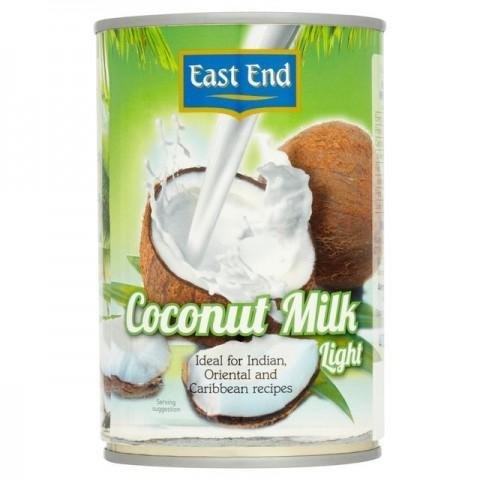 Kokosų pienas LIGHT, East End, 400 ml