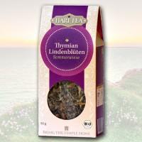 Čiobrelių ir liepžiedžių ekologiška arbata, biri, Hari Tea, 50 g