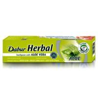 Ajurvedinė vaistažolių dantų pasta su alaviju ALOE VERA, DABUR, 100 ml