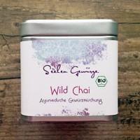 Prieskonių mišinys arbatai Wild Chai Masala, ekologiškas, Ayurveggie, 50 g dėžutė