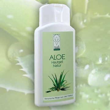 Kūno gelis su alavijais Aloe Vera Natural Skin Gel, 200 ml