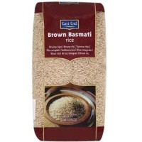 Rudieji ryžiai BROWN BASMATI, East End, 500g