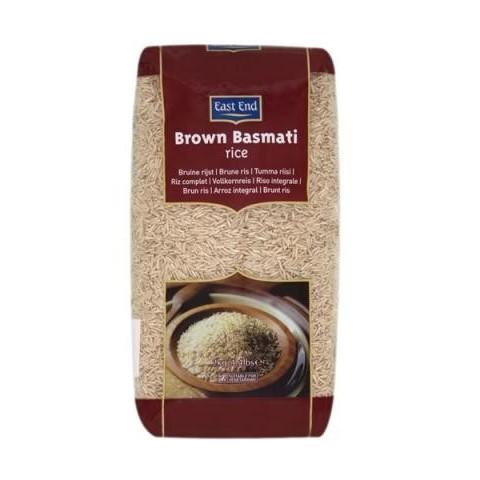 Rudieji ryžiai BROWN BASMATI, East End, 500g