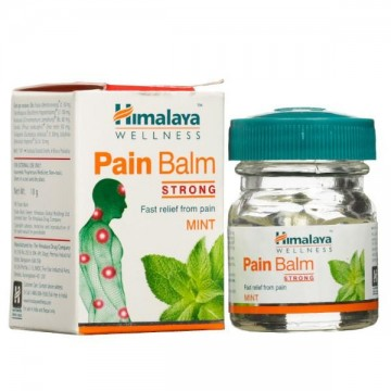 Skausmą malšinantis balzamas PAIN BALM STRONG, Himalaya Herbals, 10ml