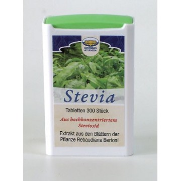 Saldiklis Stevijos tabletės, 18,5 g (300 vnt.)