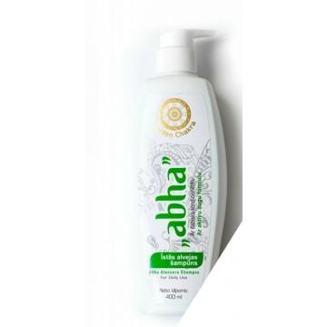 Plaukų šampūnas-kondicionierius su alavijais AloeVera ABHA, Golden Chakra, 400ml