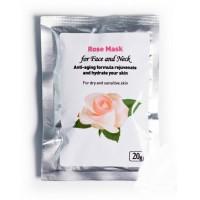 Augalinė veido kaukė su rožėmis ROSE, Herbals, 20g