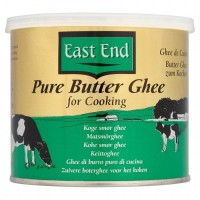Lydytas sviestas ghi Pure Butter Ghee , East End, 500g